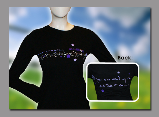 Womens 'Dancing' Long Sleeved T-Shirt