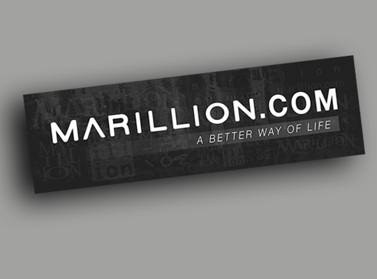 Marillion DotCom Car Window Sticker