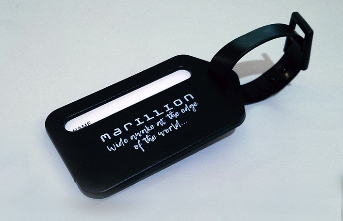 MARILLION LUGGAGE TAG WITH LYRIC