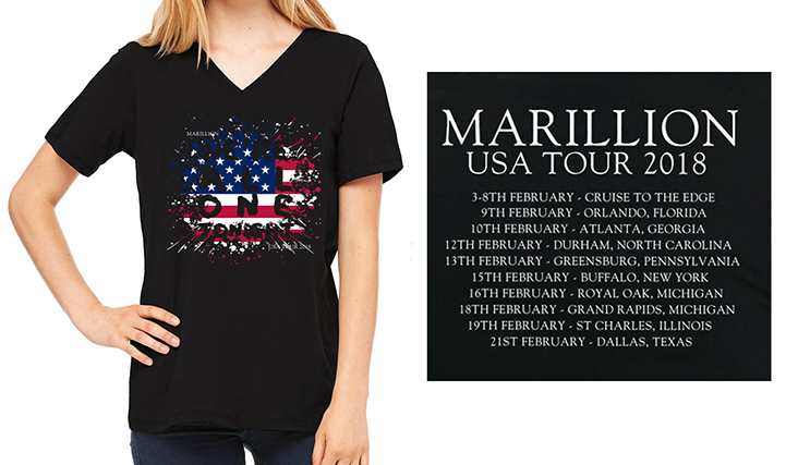 US Tour 2018 - Ladies T-Shirts