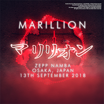 Japanese Tour 2018 Zepp Namba, Osaka, Japan - 13th September 2018