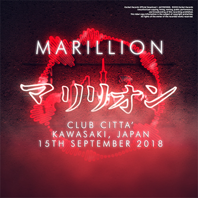 JAPANESE TOUR 2018 CLUB CITTA', KAWASAKI, JAPAN - 15TH SEPTEMBER 2018