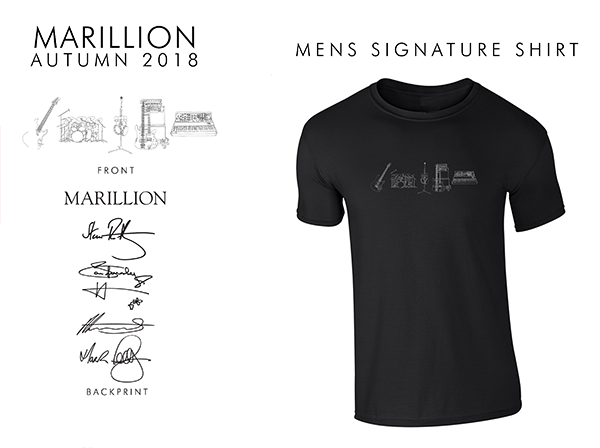 MEN'S BLACK SIGNATURE TSHIRT