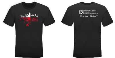MARILLION WEEKEND POLAND 2019 MEN'S TSHIRT