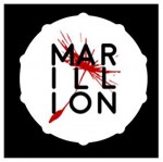 MARILLION BADGE DRUM OUTLINE DESIGN