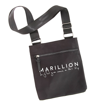 MARILLION MESSENGER BAG EMBROIDERED