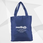 MARILLION FOLDAWAY SHOPPING BAG NAVY BLUE