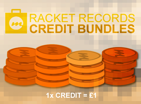 34 Racket Credits Credits Bundle